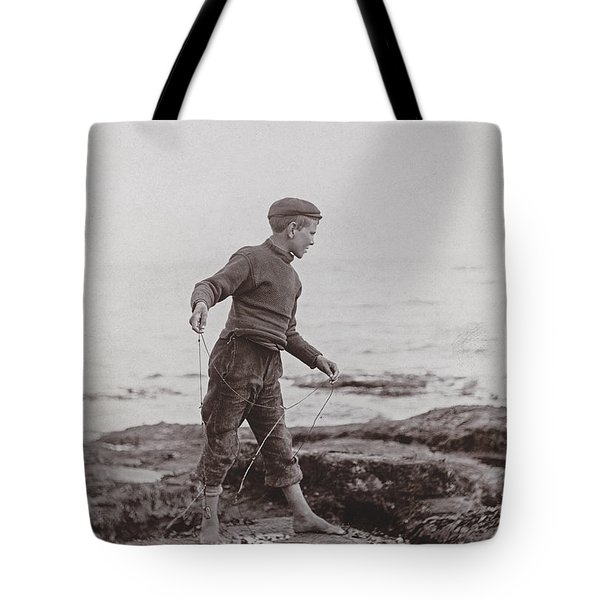A Fisher Laddie Tote Bag by James Patrck