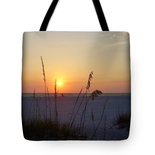 A Florida Sunset Tote Bag by Cynthia Guinn