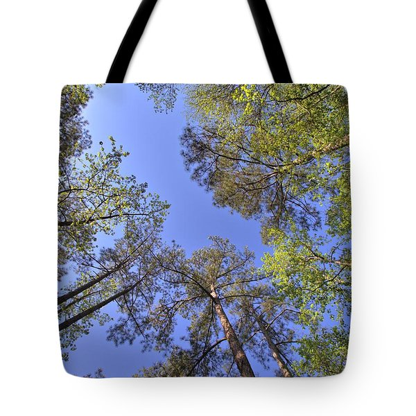 A Forest Sky Tote Bag by Gordon Elwell