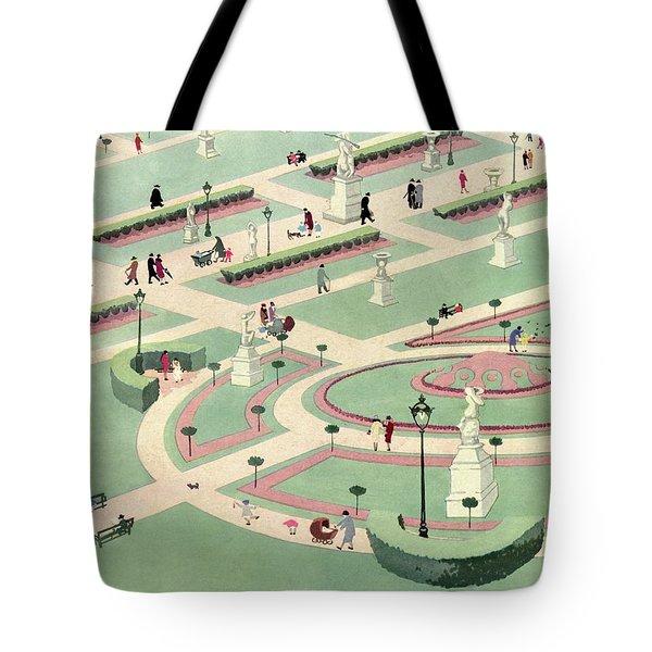 A Formally Designed Park Tote Bag