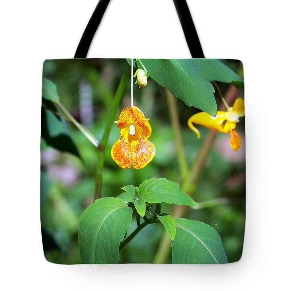 Tote Bag featuring the photograph A Fragile Flower by Chalet Roome-Rigdon