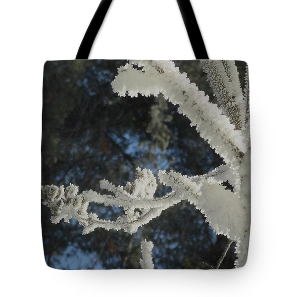 A Frosty Morning Tote Bag