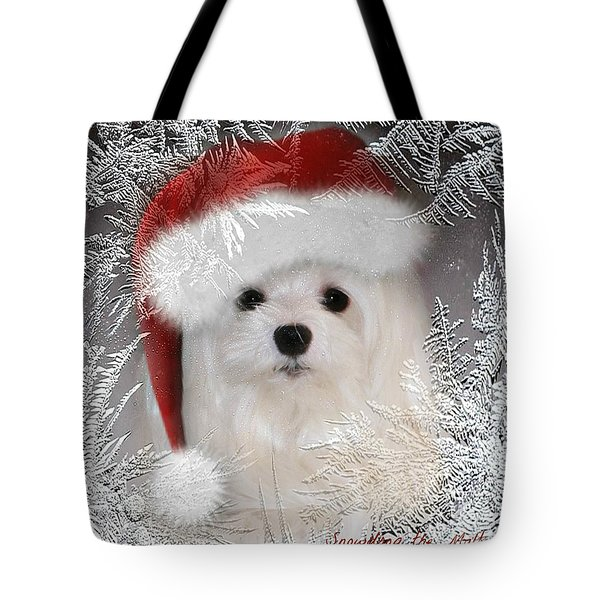 A Frosty Morning Tote Bag by Morag Bates