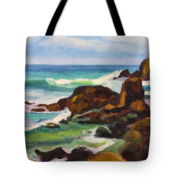 Tote Bag featuring the painting A Frouxeira Galicia by Pablo Avanzini
