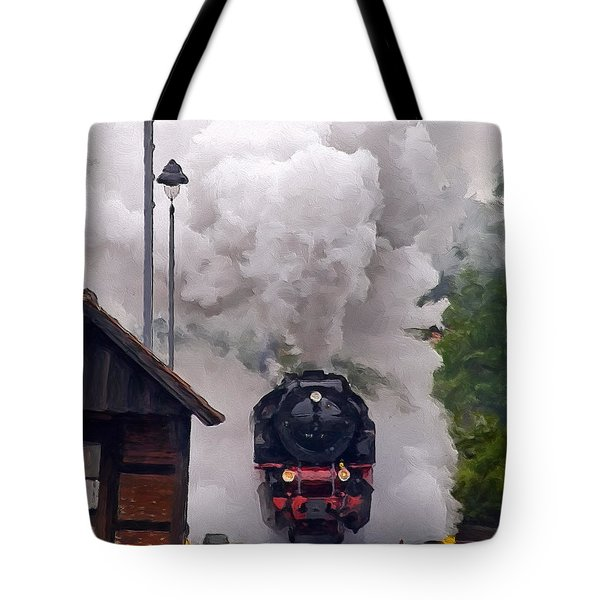 A Full Head Of Steam Tote Bag