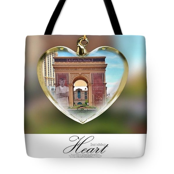A Fury For Flavor, Arc De Triomphe, Las Tote Bag