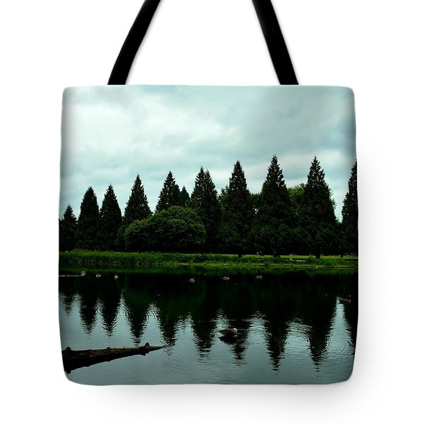 A Gaggle Of Pines Tote Bag