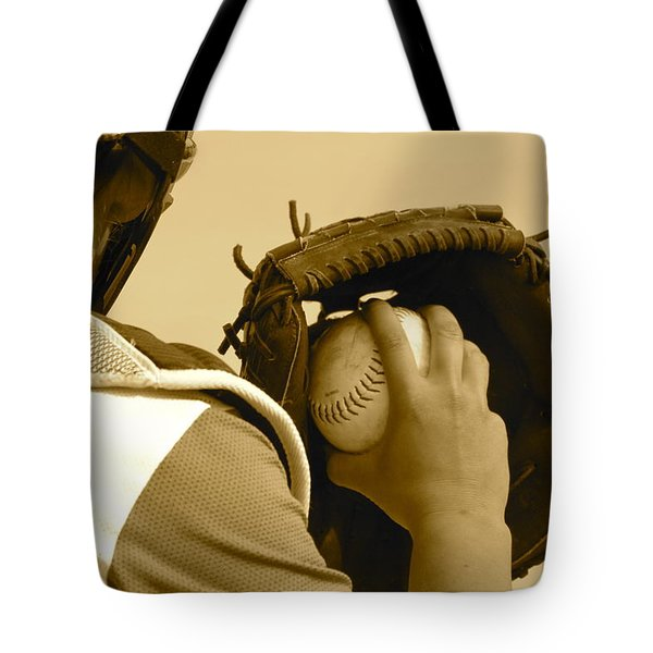 A Game Of Catch Tote Bag