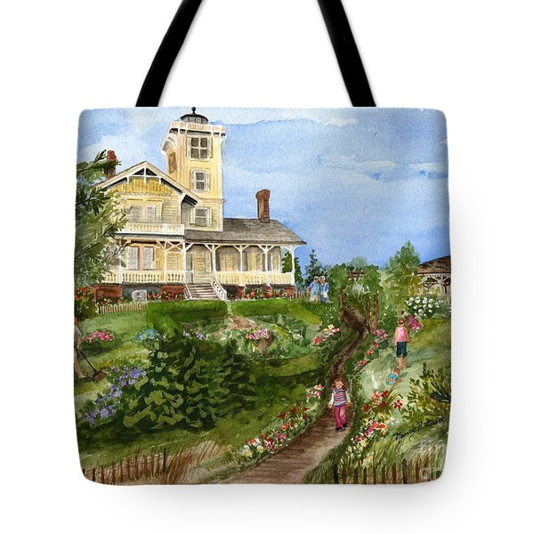 A Garden For All Ages Tote Bag by Nancy Patterson
