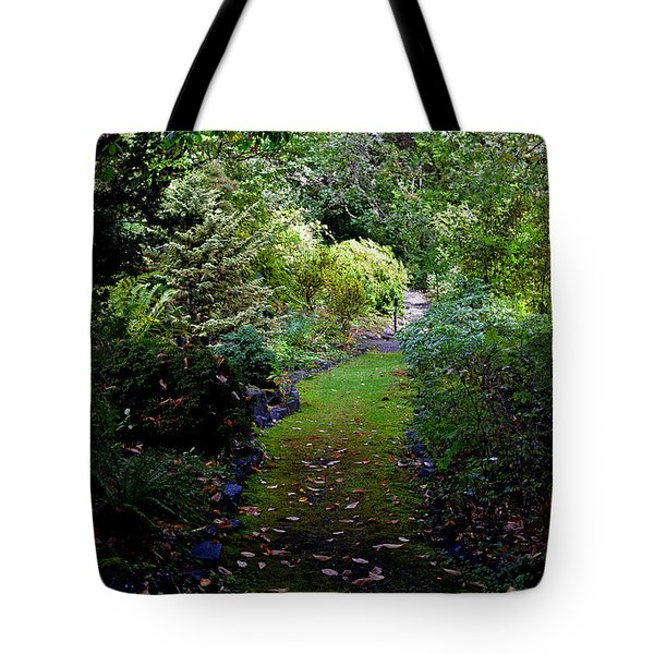 A Garden Path Tote Bag