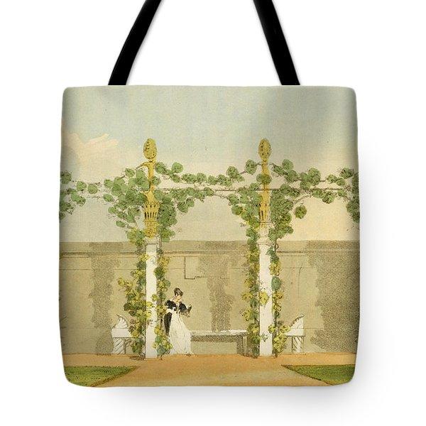 A Garden Seat Tote Bag