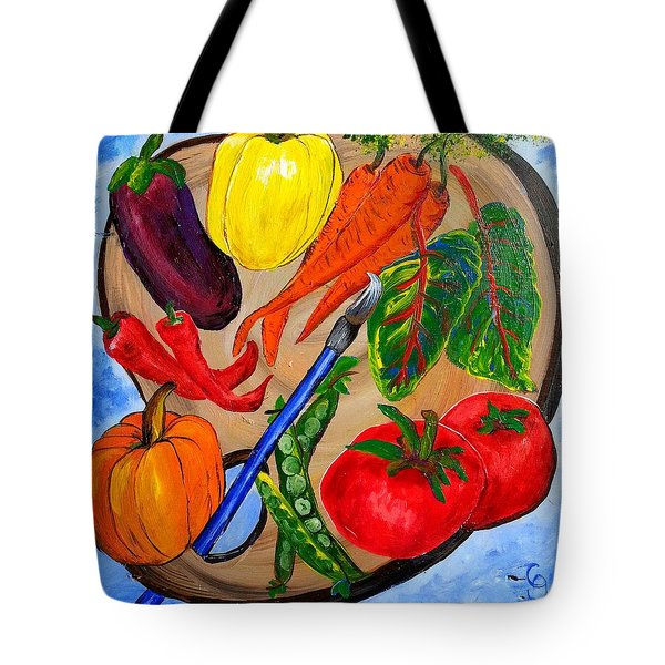 A Gardeners Palette Tote Bag