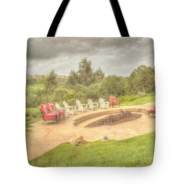 A Gathering Of Friends Tote Bag by Heidi Smith