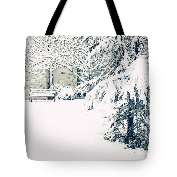 A Gentle Frosting Tote Bag