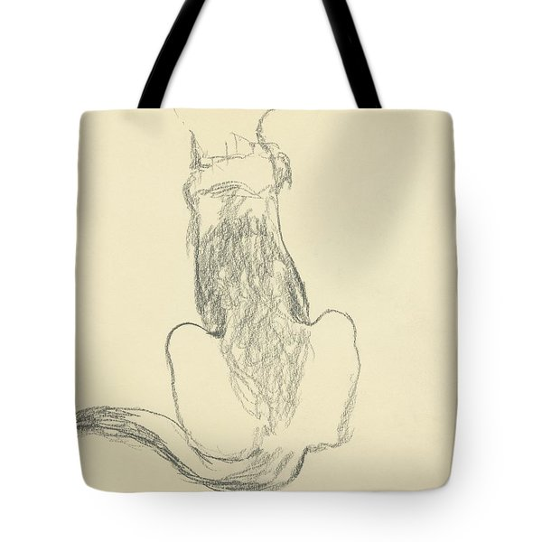 A German Shepherd Tote Bag