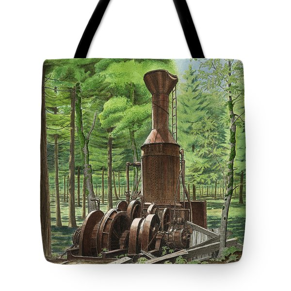 A Ghost In The Forest Tote Bag