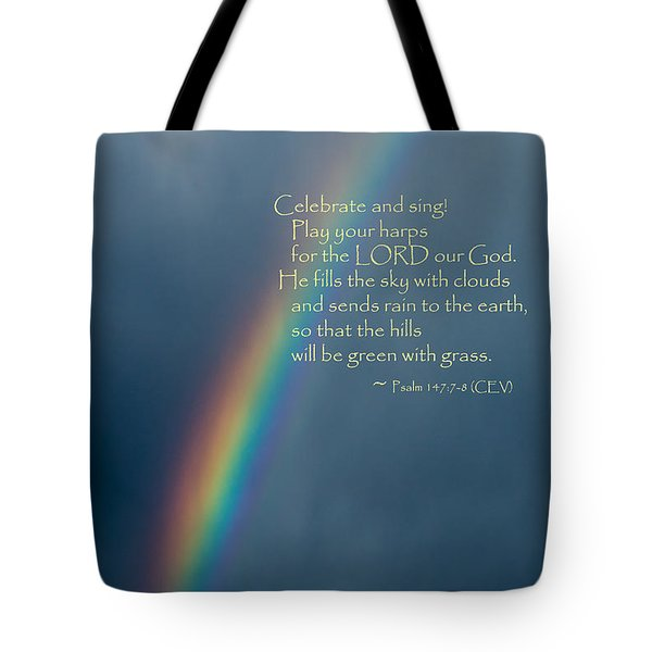 A Gift From God Tote Bag by Mick Anderson