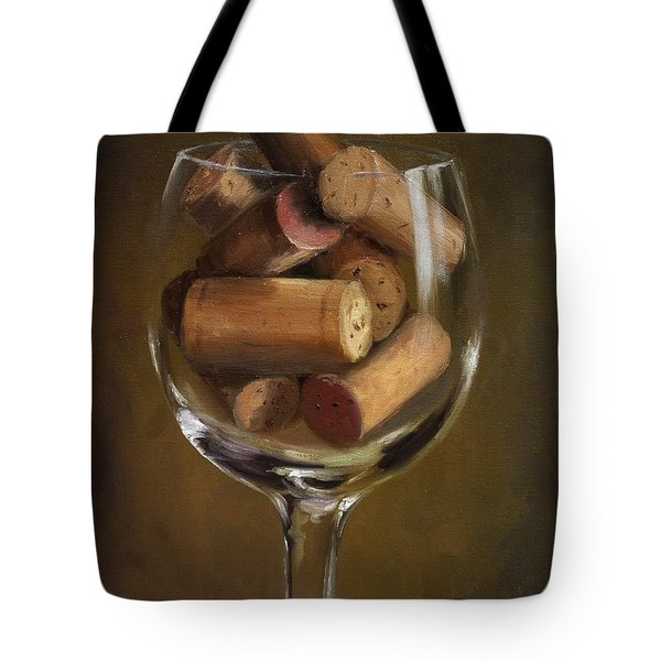 A Glass Of Cork Tote Bag