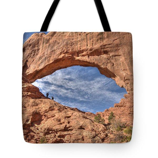 A Glimpse Of The Heavens Tote Bag by Wanda Krack