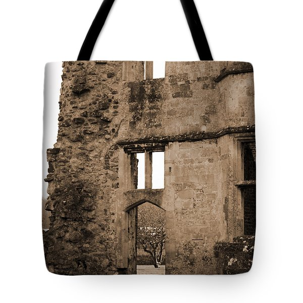 A Glimpse Of Titchfield Abbey Orchard Tote Bag by Terri Waters