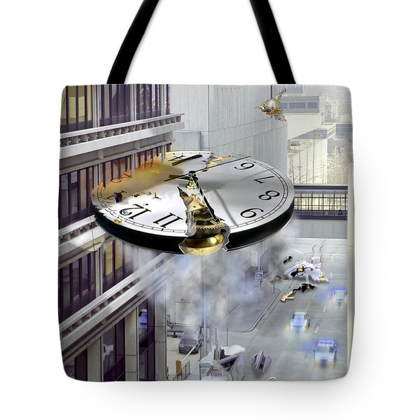 A Glitch In Time Tote Bag by Mike McGlothlen