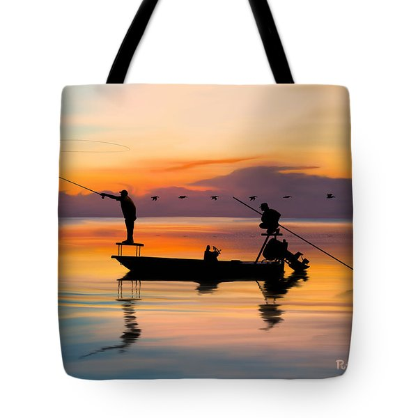 A Glorious Day Tote Bag by Kevin Putman