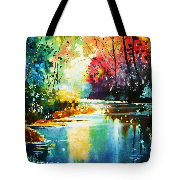 A Glow In The Forest Tote Bag
