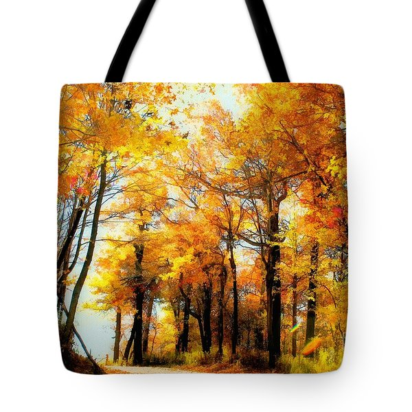 A Golden Day Tote Bag