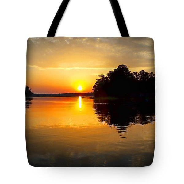 A Golden Moment Tote Bag