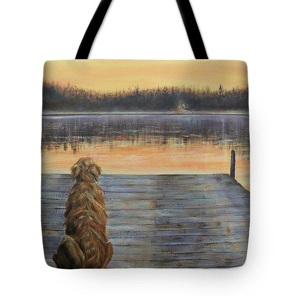 A Golden Moment Tote Bag