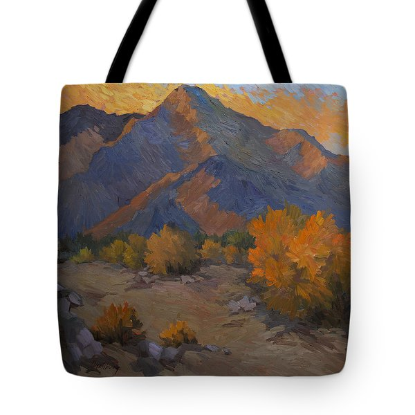 A Golden Sky Tote Bag