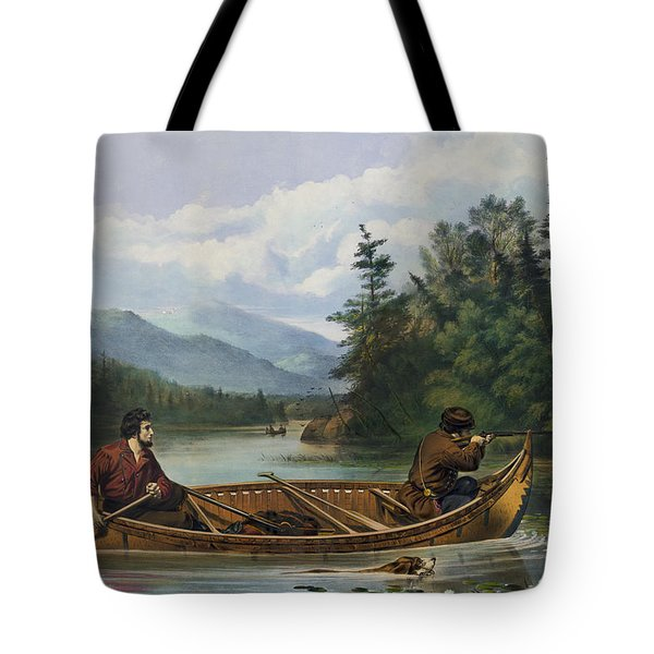 A Good Chance Circa 1863 Tote Bag by Aged Pixel