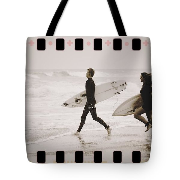 Tote Bag featuring the photograph A Good Day To Surf by Alice Gipson