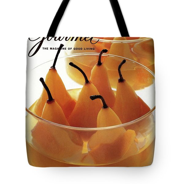A Gourmet Cover Of Baked Pears Tote Bag