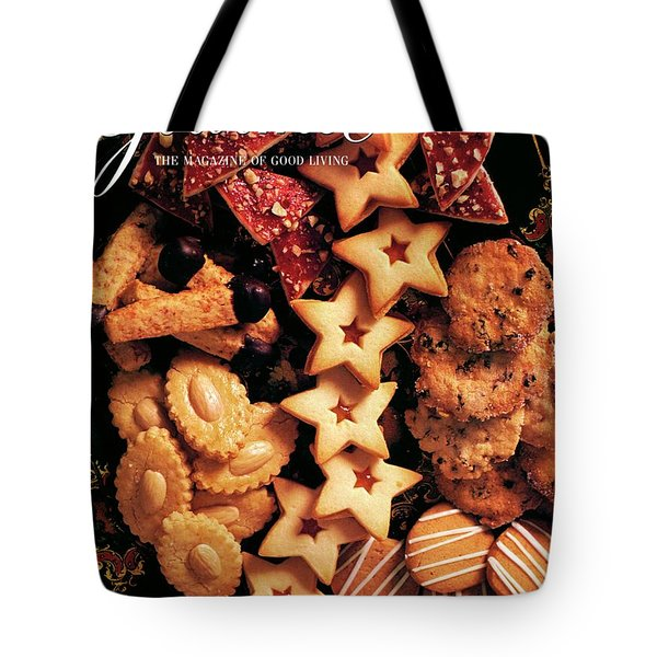 A Gourmet Cover Of Butter Cookies Tote Bag