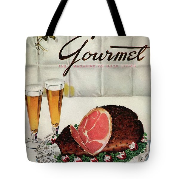 A Gourmet Cover Of Ham Tote Bag