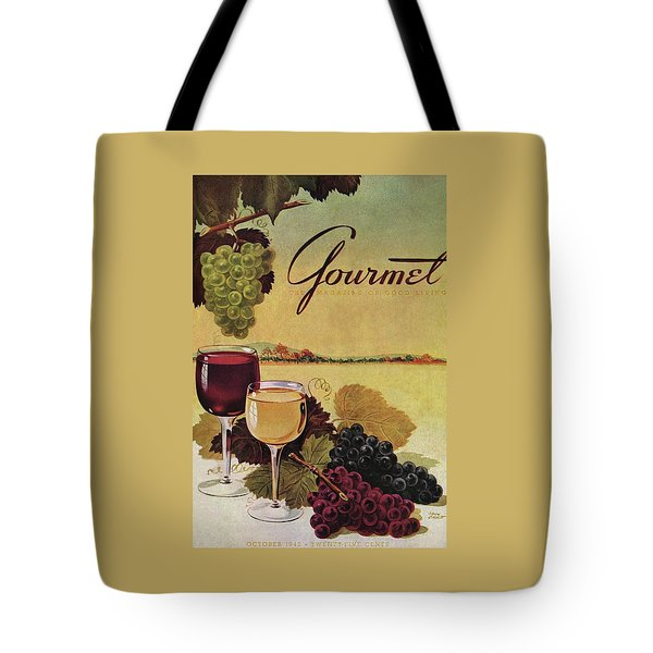 A Gourmet Cover Of Wine Tote Bag
