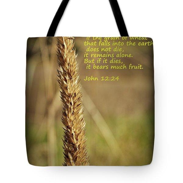 A Grain Of Wheat Tote Bag