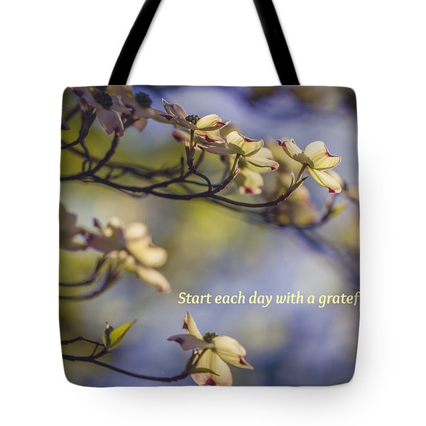 A Grateful Heart Tote Bag