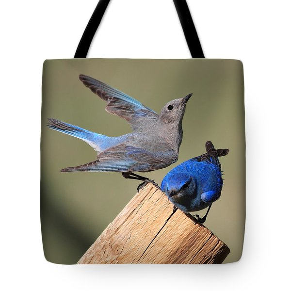 A Great Pair Tote Bag by Shane Bechler