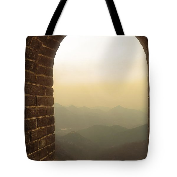 A Great View Of China Tote Bag by Nicola Nobile