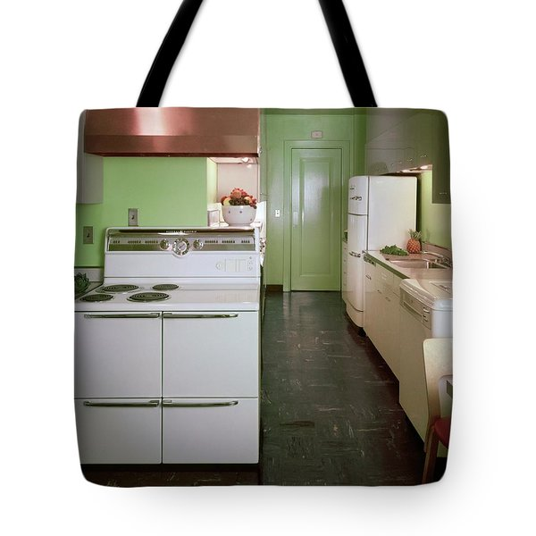 A Green Kitchen Tote Bag