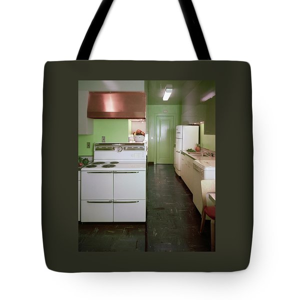 A Green Kitchen Tote Bag