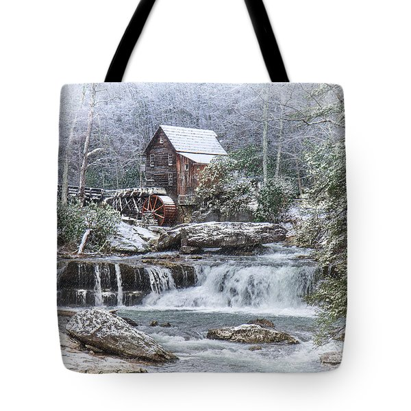 A Gristmill Christmas Tote Bag