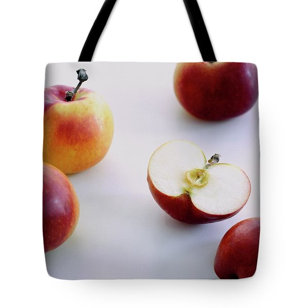 A Group Of Apples Tote Bag