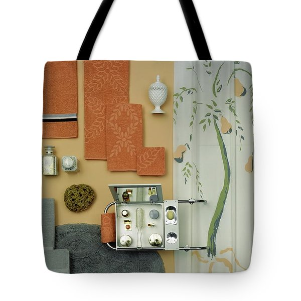 A Group Of Household Objects Tote Bag