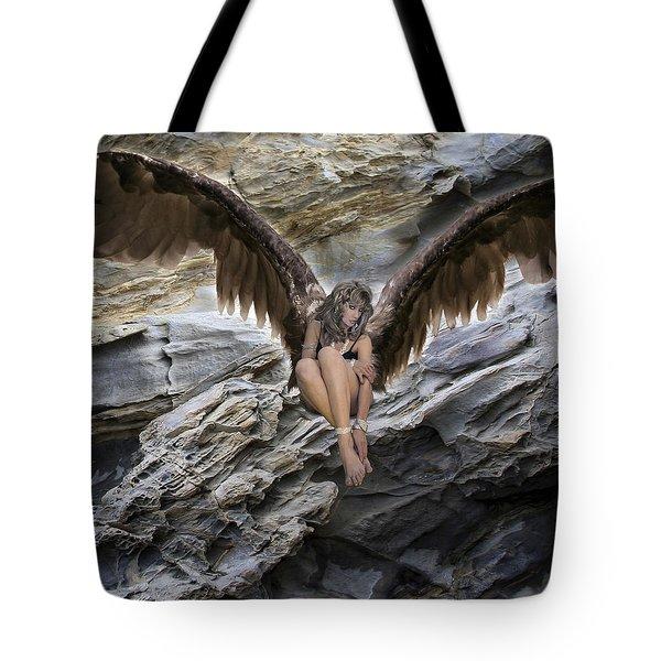 A Guardian Angel Tote Bag