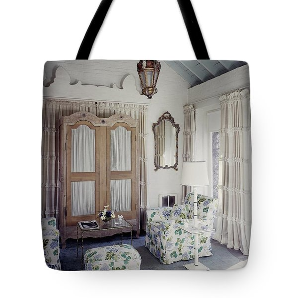 A Guest Room At Hickory Hill Tote Bag
