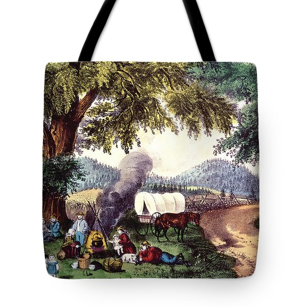 A Halt By The Wayside  Tote Bag