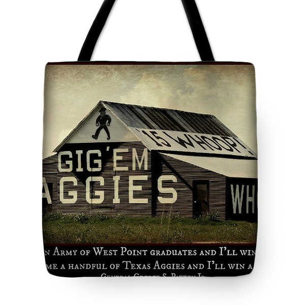 A Handful Of Aggies Tote Bag